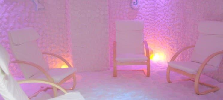 Haloterapia c/ Massagem para 1 ou 2 Pessoas   1 Hora   Halonature®