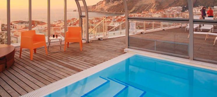 Hotel Praia 4* - Nazaré | 1 a 7 Noites & SPA com Vista Panorâmica