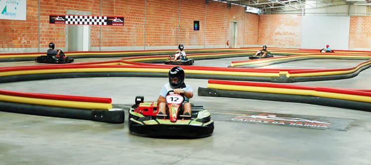 Indoor Karting Caldas da Rainha | Experiência de Condução de 10 Minutos para 1 ou 2 Pessoas