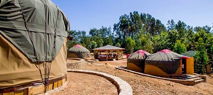 Quinta de São José dos Montes   Ferreira do Zêzere - 2, 3 e 5 Noites em Yurts
