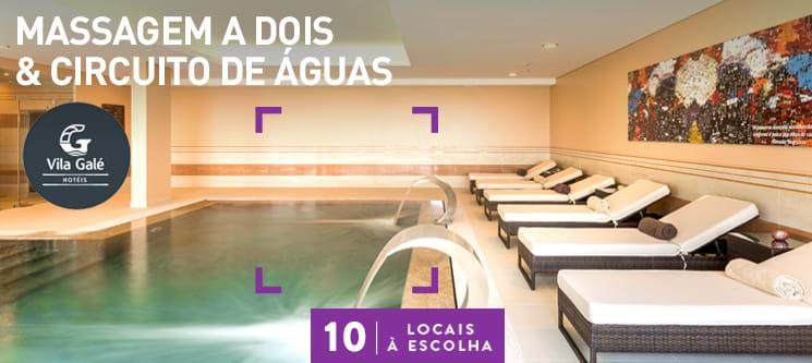 Massagem a Dois & Circuito de Águas no Vila Galé | 10 Locais à Escolha