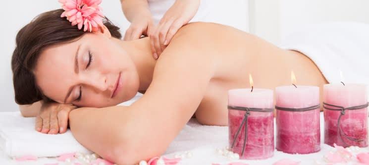 Massagem à Escolha: Relax ou Velas   1 Hora   CatSpa - Massamá