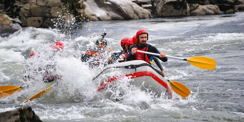 Melgaço Radical - Rafting em Grupo no Rio Minho!