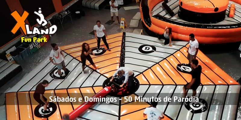 XLand Fun Park | Arena de Jogos Insufláveis Também para Adultos! Sessão Aventura - Sintra