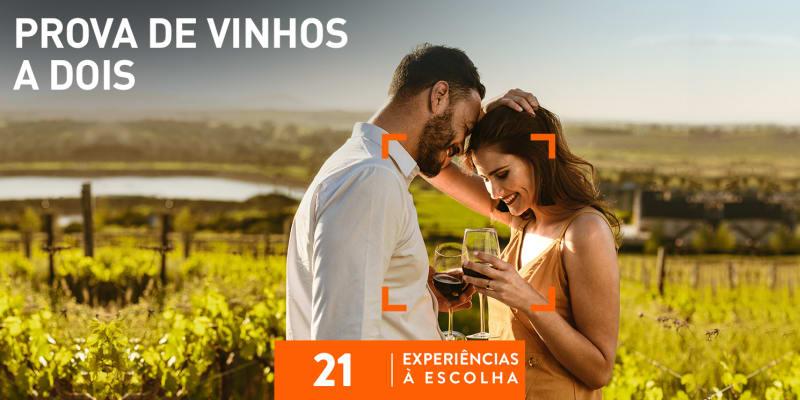 Prova de Vinhos a Dois | 21 Experiências à Escolha