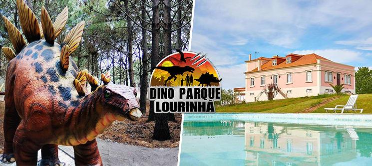 Quinta do Juncal - Serra D´El Rei | Noite & Entradas no Dino Parque