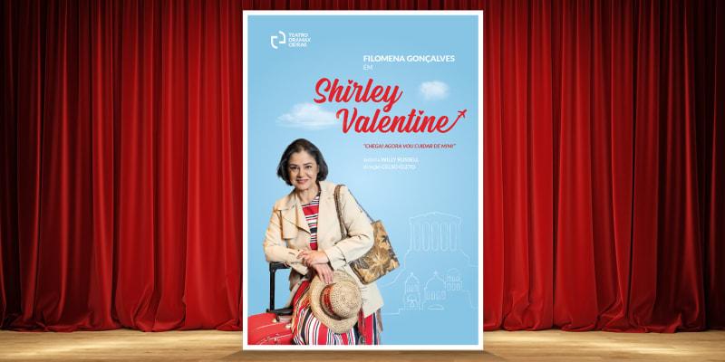 Bilhete de Grupo para o Espectáculo «Shirley Valentine» - 4 Pessoas | Auditório Municipal Eunice Muñoz - Oeiras