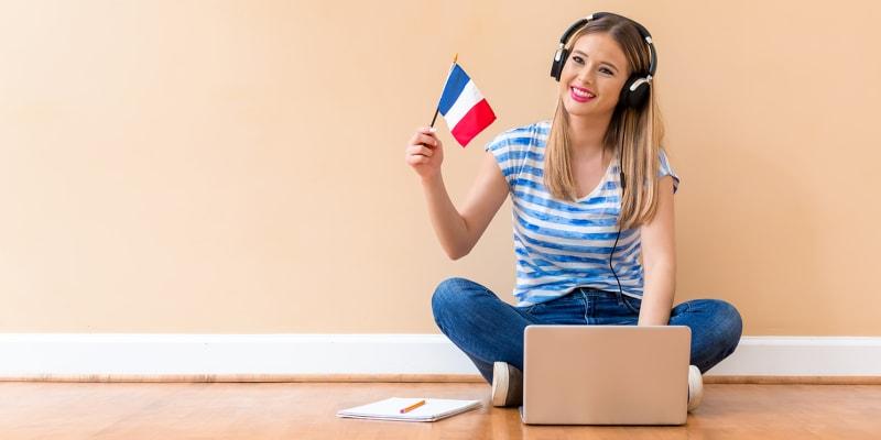 Curso Online de Francês - Nível Básico | 8 Semanas | Acesso Ilimitado 24h/Dia + Certificado Final