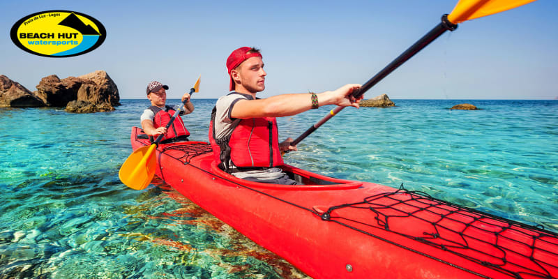Experiência de Kayak! Water & Nature 1 ou 2 Pessoas | Praia da Luz - Lagos