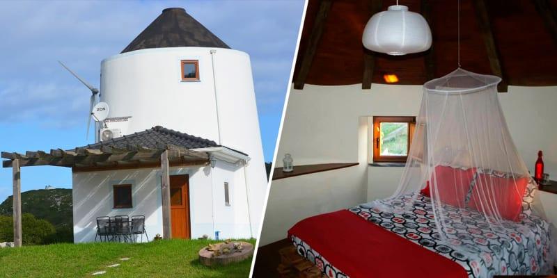 The Windhouse - Lourinhã | Estadia Romântica em Moinho