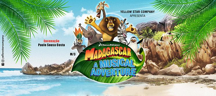 Madagáscar - Uma Aventura Musical | Auditório do Casino Estoril