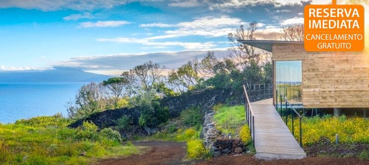 Intact Farm Resort - S. Jorge nos Açores | Noites em Bungalow c/ Vista Mar