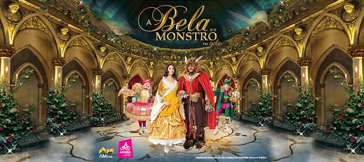«A Bela e o Monstro no Gelo» - Alegro Alfragide | Bilhete Criança ou Adulto + CD Oficial
