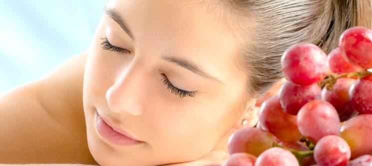 O Poder da Uva! Limpeza Facial, Esfoliação e Hidratação c/ Massagem   Matosinhos