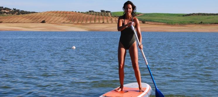 Stand Up Paddle na Barragem do Maranhão para 2 Pessoas | 1 Hora | Avis