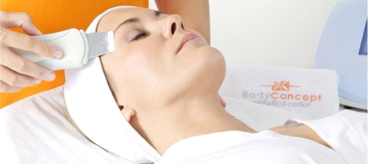 BodyConcept ®   Limpeza de Pele Ultrassónica   Cómodo, Indolor e Seguro   Mais de 40 Clínicas