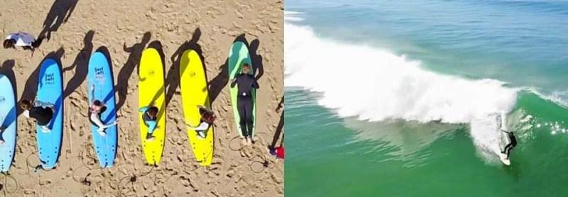 Aula de Surf - 1 ou 2 Pessoas | 2h | Praia do Castelo | Caparica