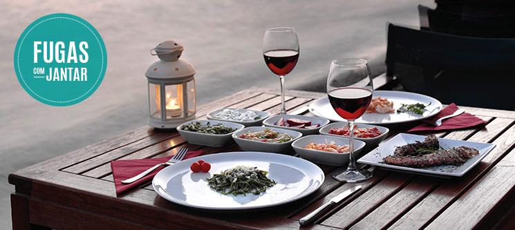 Fugas com Jantar | 150 Estadias à escolha