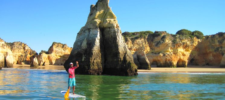 Óptimo para o Corpo e Mente! Stand-Up Paddle em Portimão - 1 ou 2 Pessoas | 1h30