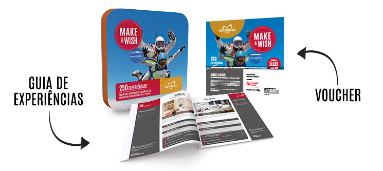 Make-a-Wish | 250 Experiências à escolha