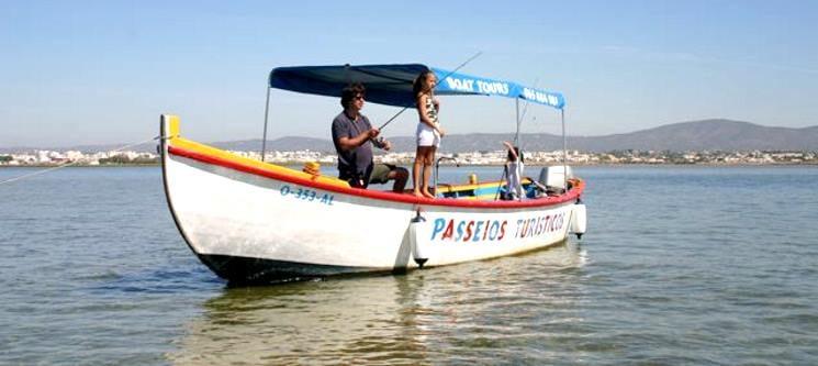 Passeio em Barco Tradicional pela Ria Formosa para Dois c/ Almoço | Olhão