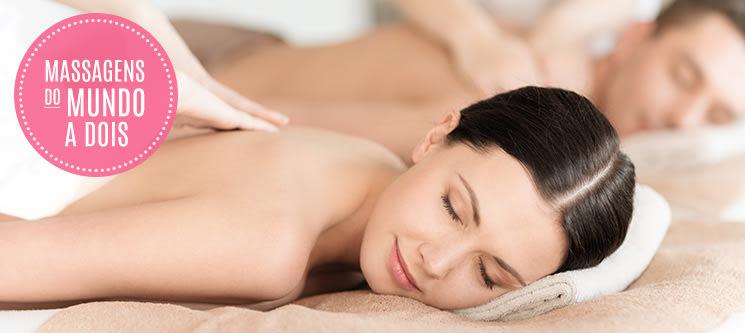Massagens do Mundo a Dois | 60 Locais à escolha