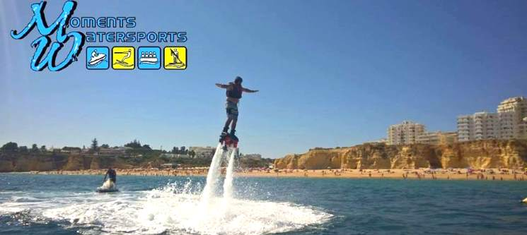 Flyboard - 15 Minutos a Voar sobre as Águas | Armação de Pêra - Algarve