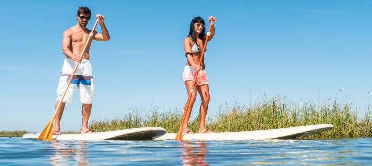 Stand-Up Paddle na Barragem de Montargil - Alentejo | 1 Hora | Monte da Tojeirinha