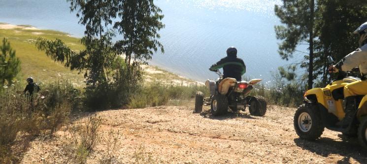 Passeio de Moto 4 para Dois no Monte da Tojeirinha | 30 Minutos