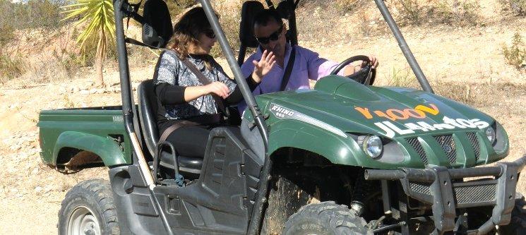 Passeio de Buggy para Casais Aventureiros   30 Minutos Emocionantes em Montargil