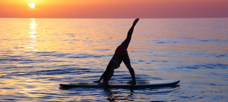 Stand Up Paddle Yoga 1h30 | 1 ou 2 Pessoas | Corpo & Mente sobre as Águas - Porto ou Braga