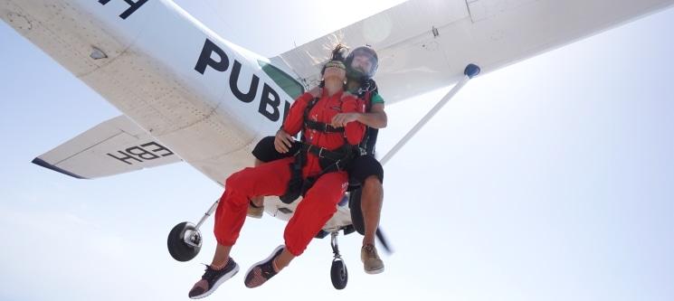 Salto Tandem de 3000m c/ Skydive Europe | Máxima Adrenalina em Leiria