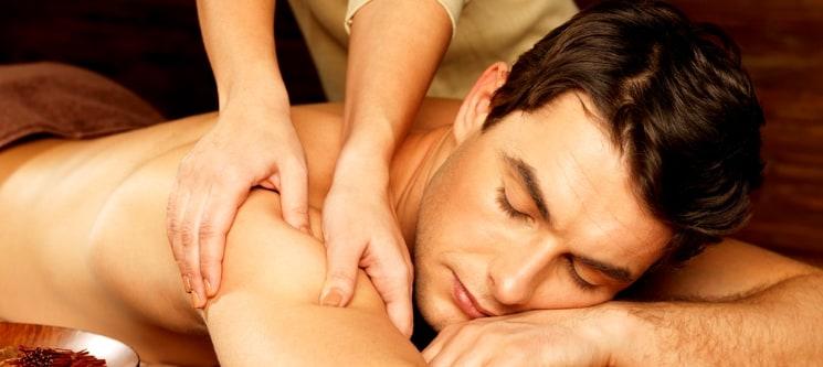 Time For Men! Envolvimento Localizado c/ Massagem & Ritual Chá | Qta. Lambert