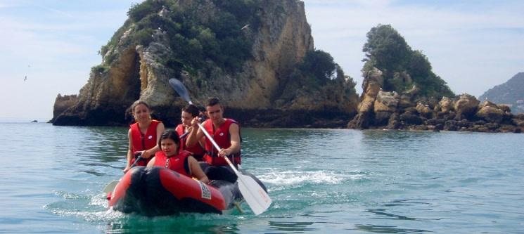2 Horas de Aventuras Aquáticas na Arrábida c/ Canoagem + Snorkeling | WIND