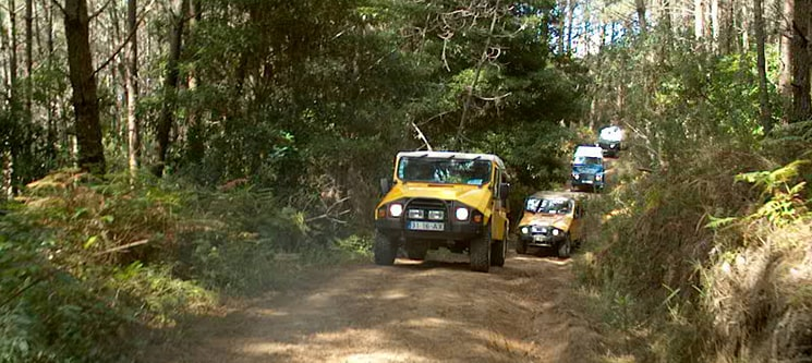 Jeep Tour | Aventura na Arrábida ou Sintra | 1, 2 ou 4 Pessoas