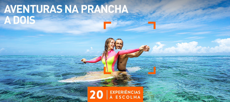 Aventuras na Prancha a Dois | 20 Actividades à Escolha