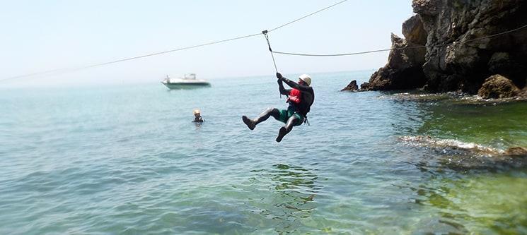 Coasteering Arrábida - 1 a 4 Pessoas   Experiência Inesquecível!