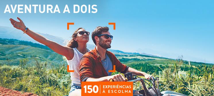 Aventura a Dois | 150 Experiências