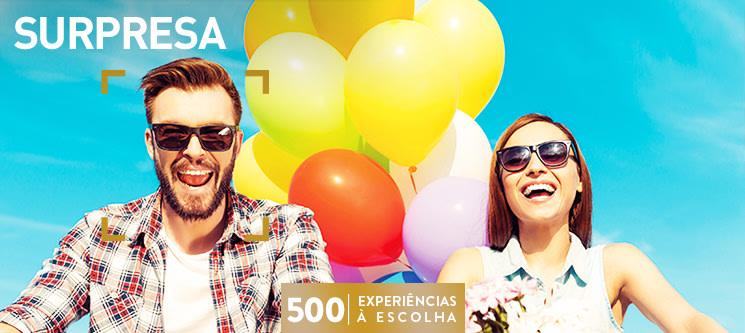 Surpresa | 500 Experiências