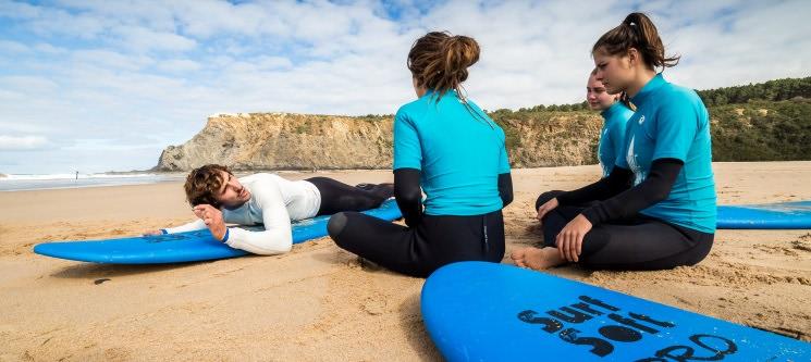 Aula de Surf ou Bodyboard 1 ou 2 Aulas | Surfseixe - Odeceixe