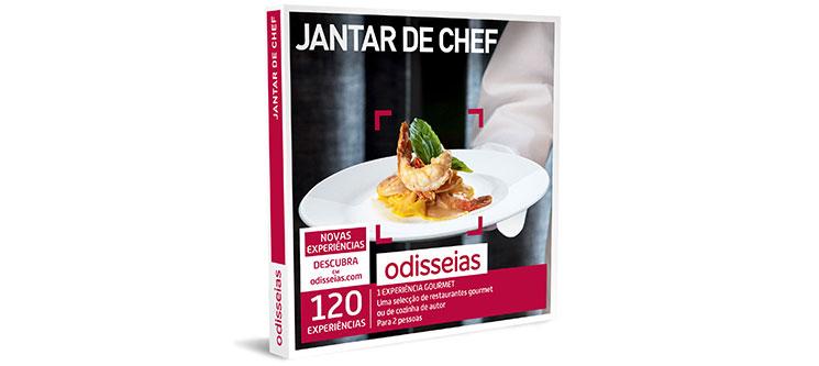 Jantar de Chef | 120 Experiências