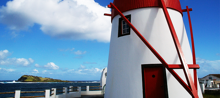 Moinho Mó da Praia - Açores | 1 ou 2 Noites em Moinho