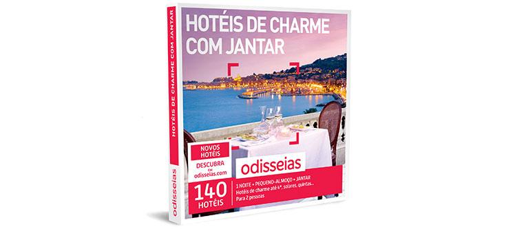 Hotéis de Charme com Jantar | 140 Hotéis