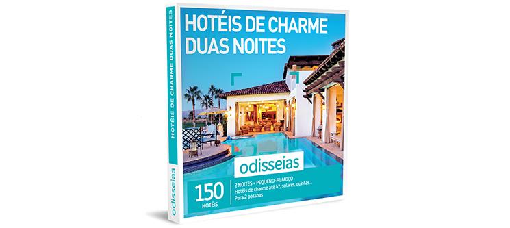 Hotéis de Charme Duas Noites | 150 Hotéis