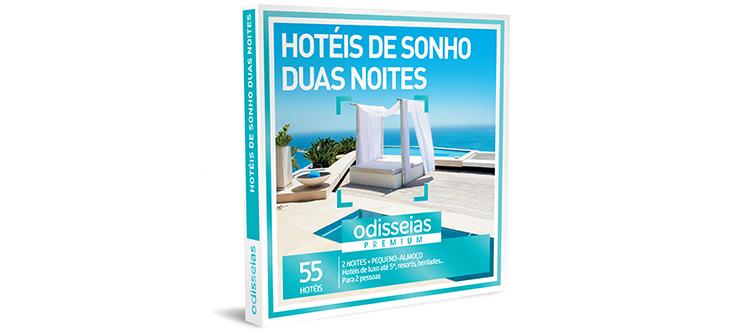 Hotéis de Sonho 2 Noites | 55 Hotéis