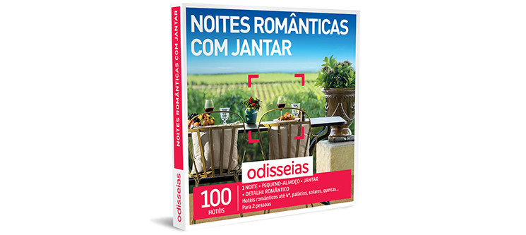 Noites Românticas com Jantar | 100 Hotéis