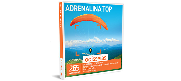 Adrenalina Top | 265 Experiências