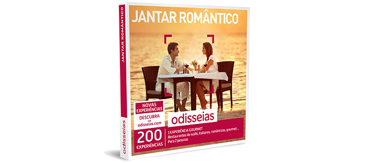 Jantar Romântico | 200 Experiências