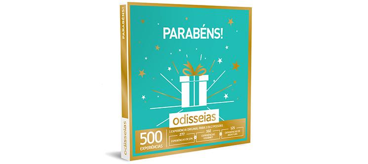 Parabéns! | 500 Experiências