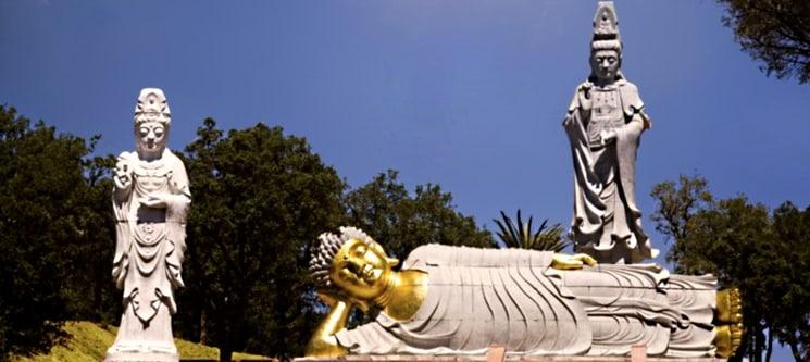 Noite em Peniche & Entradas no Buddha Eden Jardim da Paz